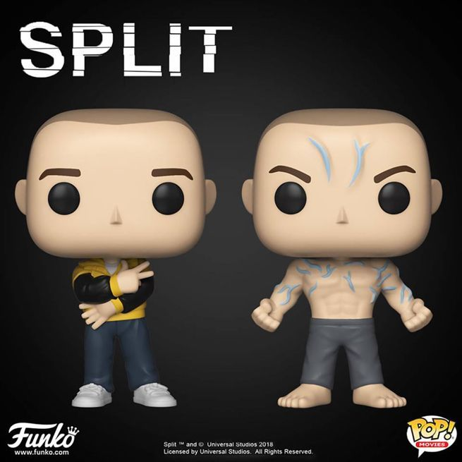 Movies: split POP Funko: Pop Beast