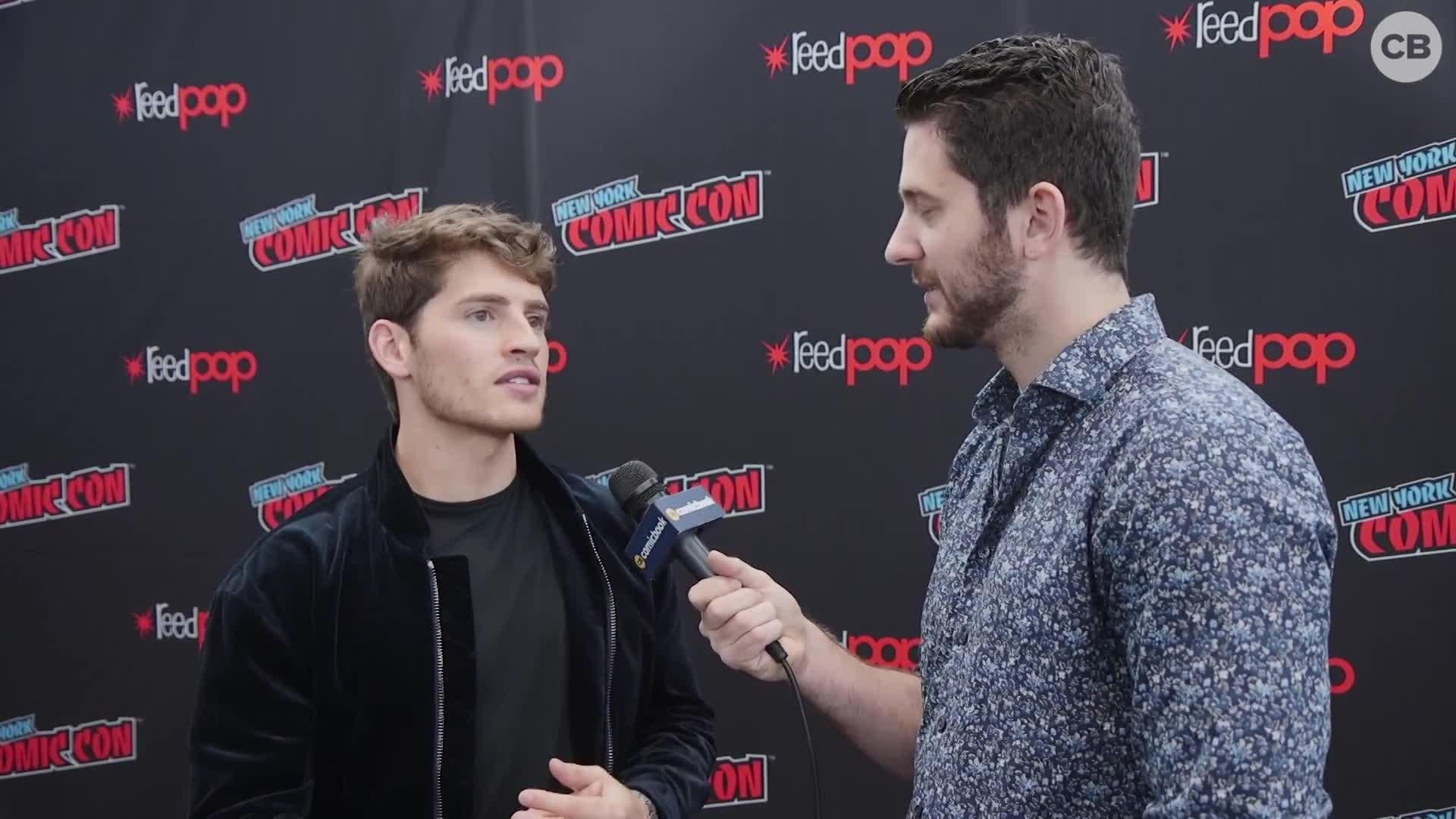 Gregg Sulkin Talks Runaways screen capture