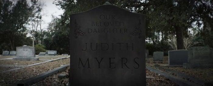 halloween movie 2018 judith myers grave