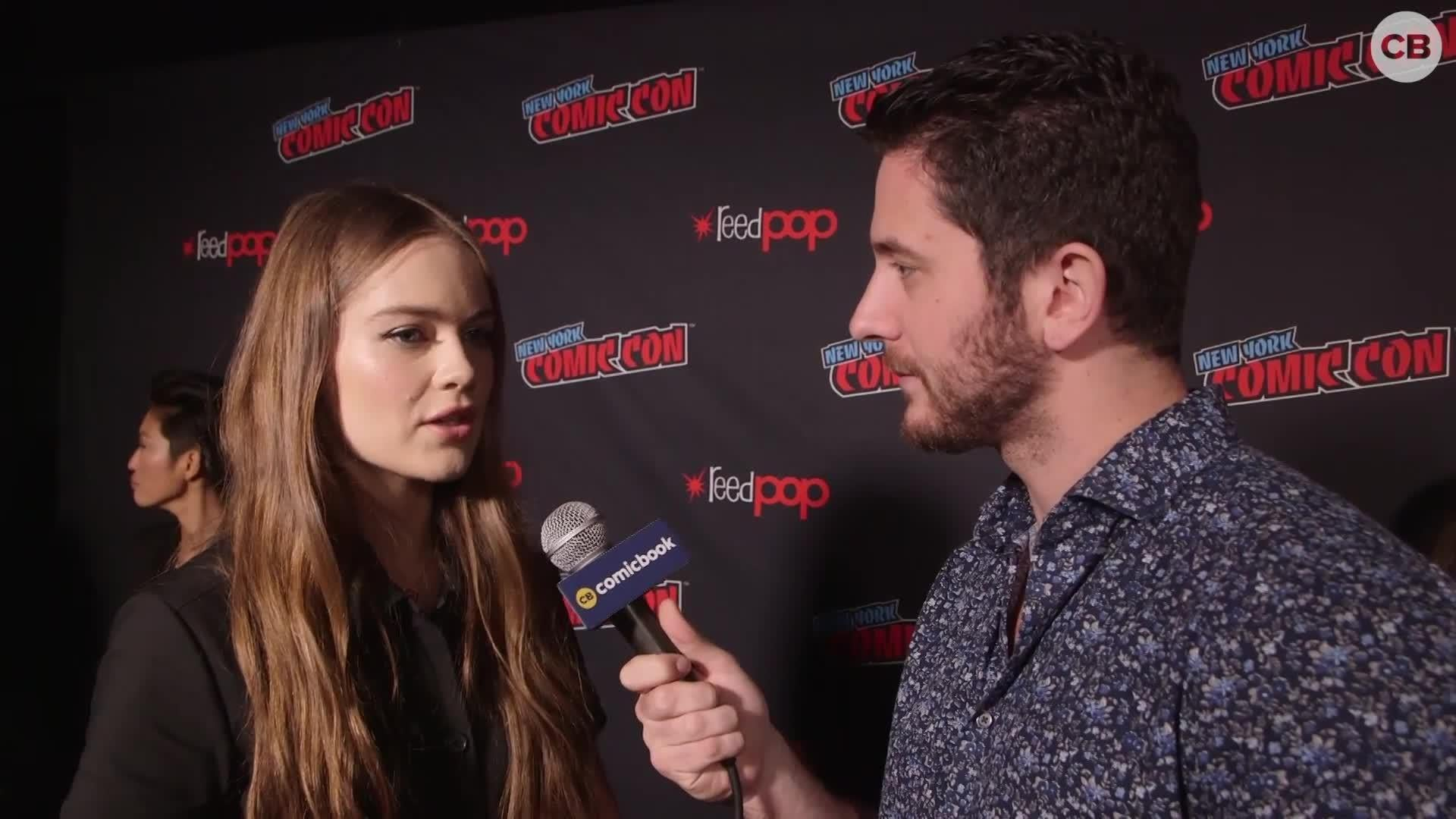 Hera Hilmar Talks Mortal Engines screen capture