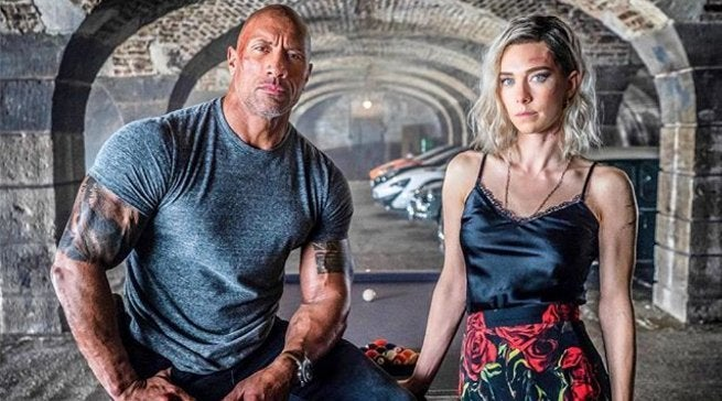 Hobbs and Shaw first look Vanessa Kirby Hattie Shaw