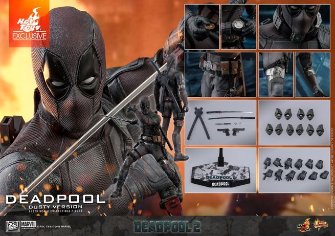 Hot Toys Made A Filthy Deadpool Figure