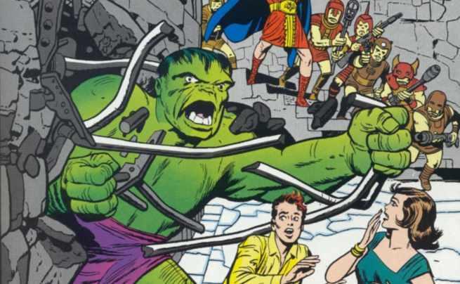 Immortal Hulk Marvel Comics - Kirby