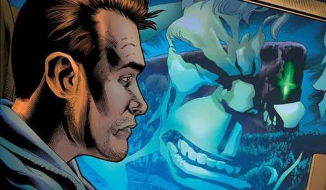 Immortal Hulk Marvel Comics - Reflection