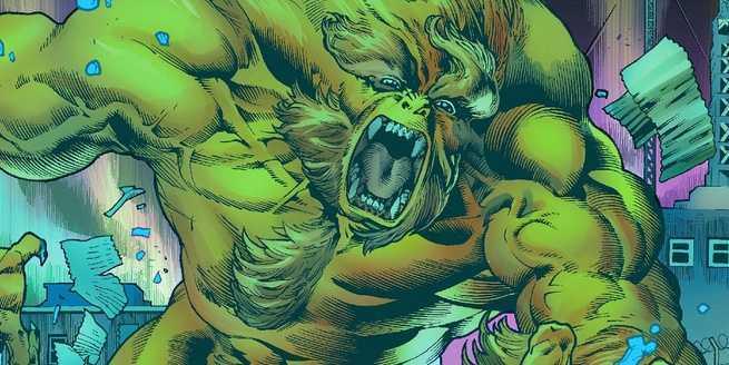 Immortal Hulk Marvel Comics - Sasquatch