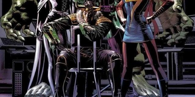 Infinity Wars Loki Avengers