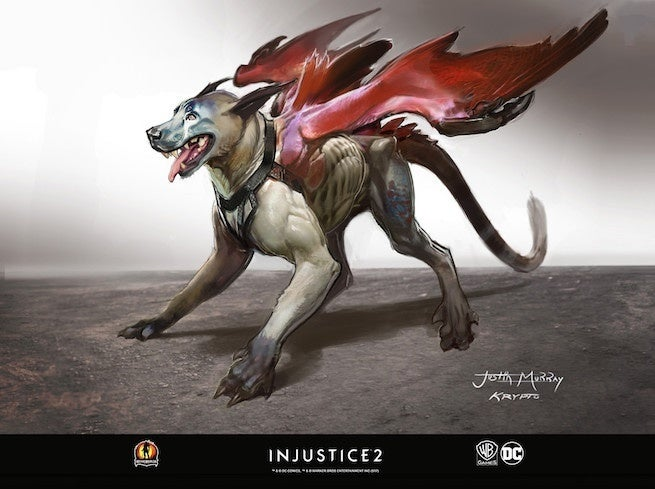 injustice 2 krypto