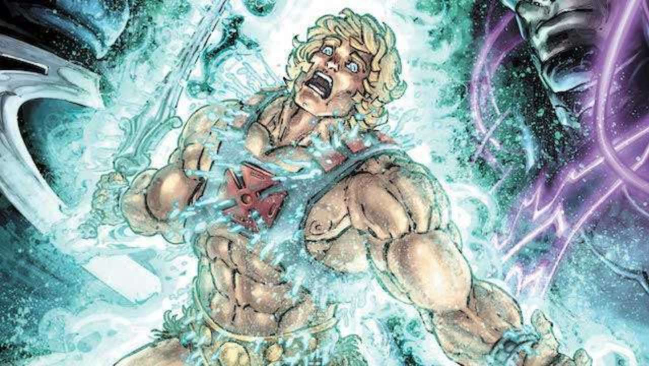 Tim Seeley Teases He Man Superman Brawl In Injustice Vs Masters Of The Universe 4