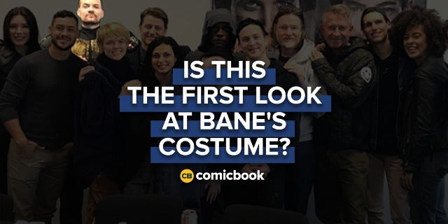 Is This the First Look at Bane's 'Gotham' Costume? screen capture