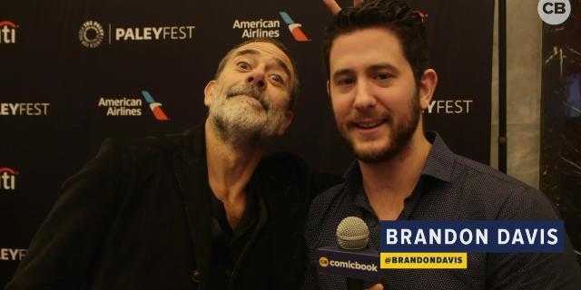 Jeffrey Dean Morgan Talks 'The Walking Dead' screen capture