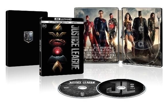 Wonder Woman And Justice League Getting New 4k Steelbooks