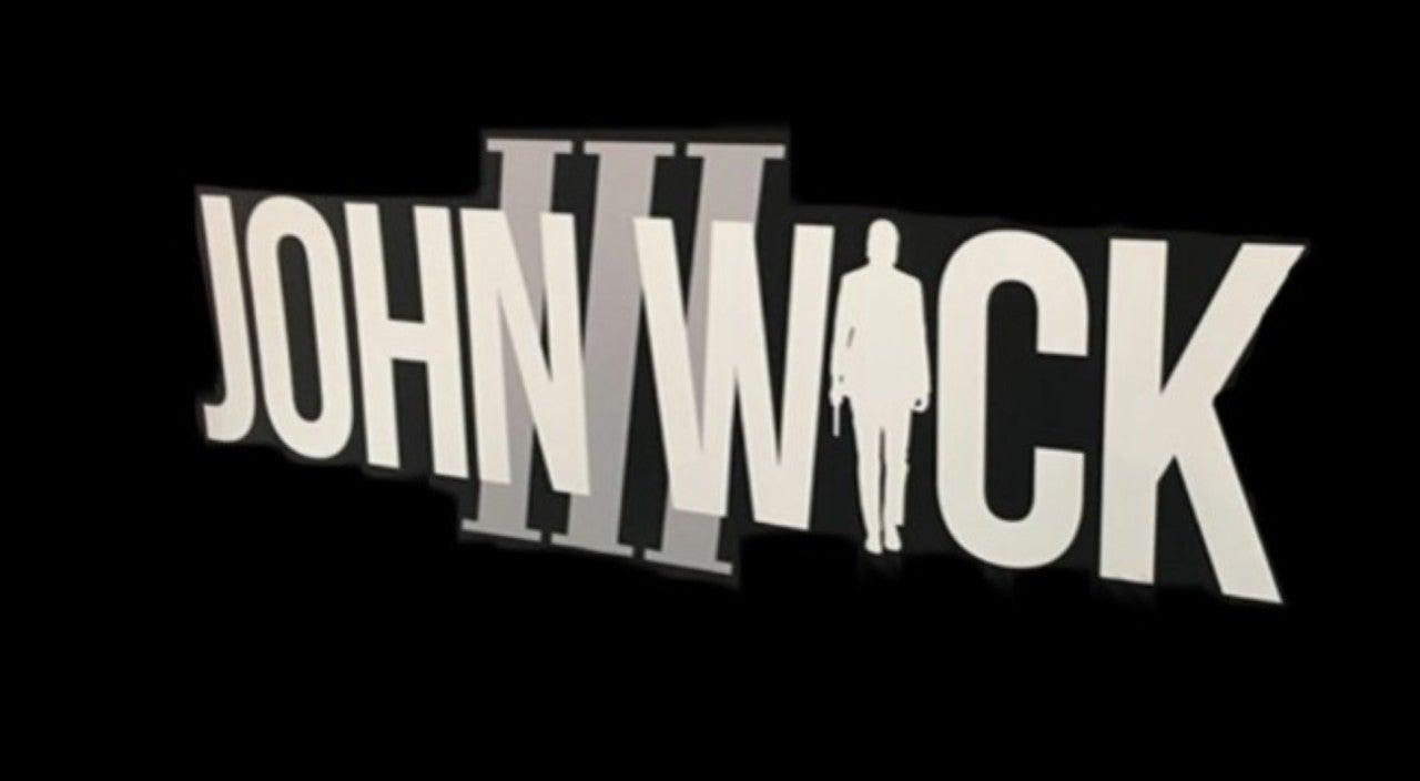 New John Wick 3 Logo Revealed