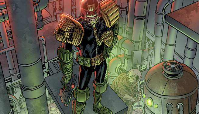 Judge Dredd - Cover
