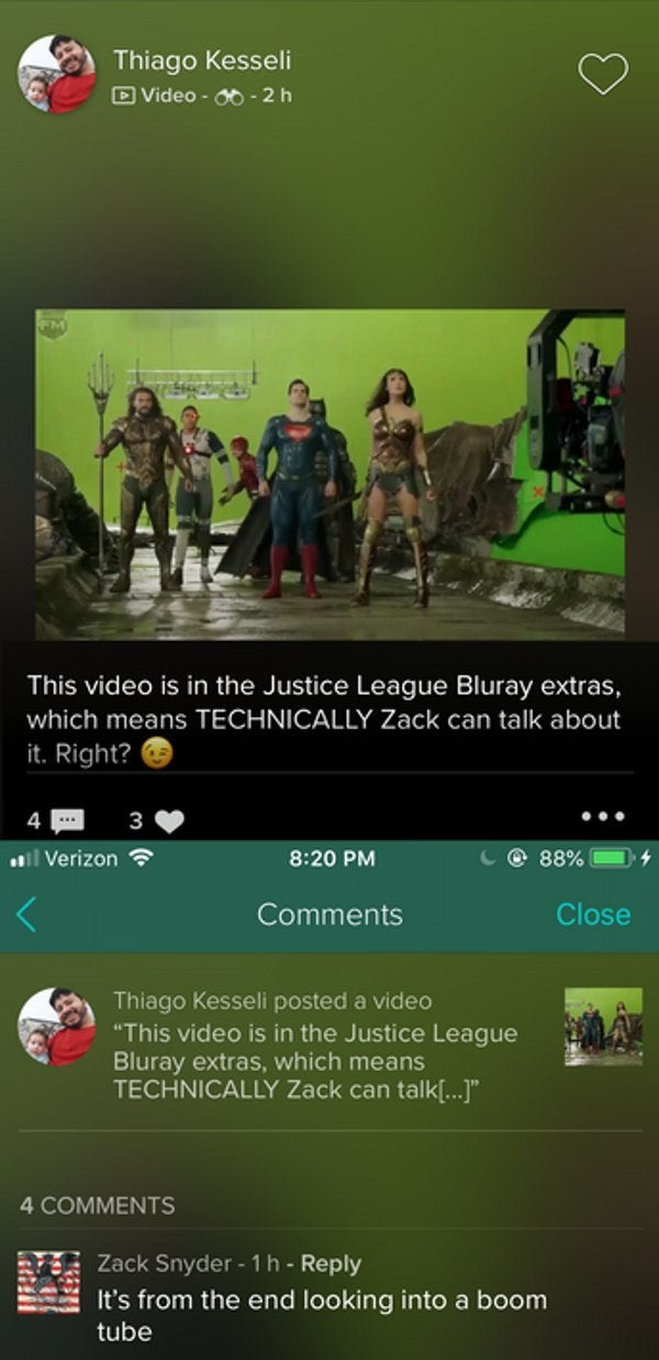 Justice League Original Ending Darkseid Boom Tube Zack Snyder