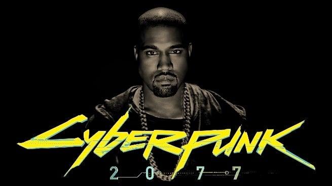 kanye west cyberpunk 2077