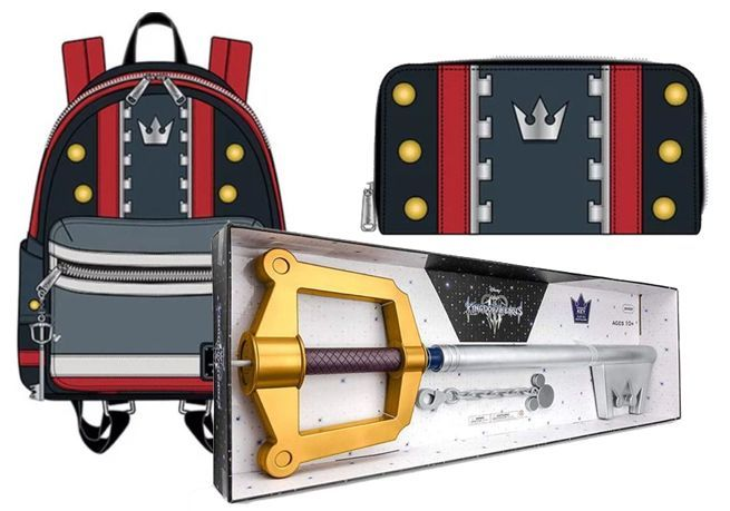 1c0394a66d3 The  Kingdom Hearts 3  Sora Backpack and Keyblade Replica Are a Perfect  Combo