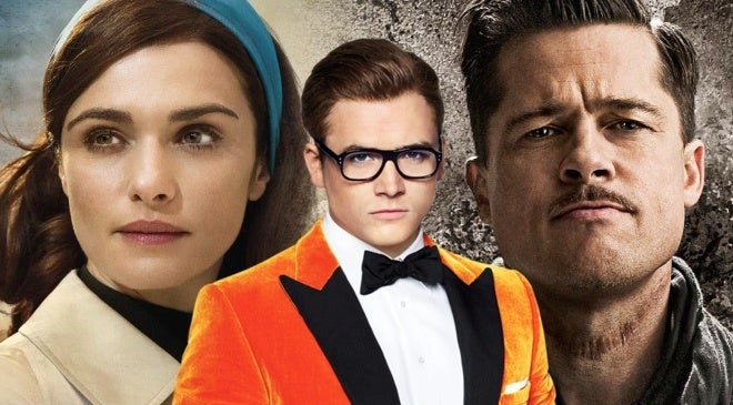 kingsman the great game rachel weisz brad pitt