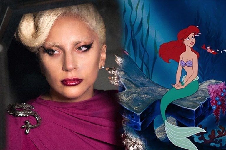 lady gaga little mermaid