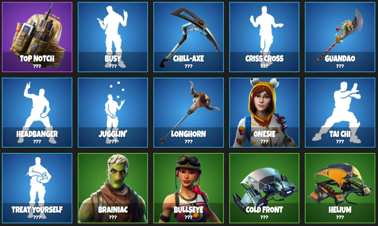 Fortnite Major Item Shop Leak Includes New Bunnymoon Outfit