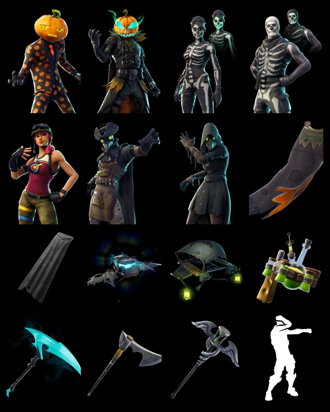 'Fortnite' Halloween Cosmetics Leaked