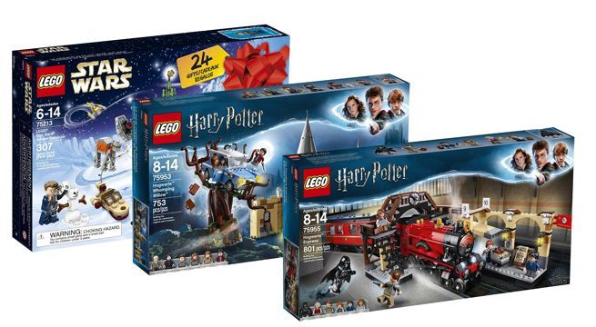 Save On Lego Harry Potter And Star Wars Sets For Christmas