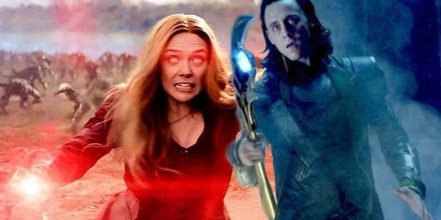Loki vs Scarlet Witch