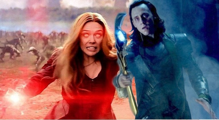 Loki vs Scarlet Witch