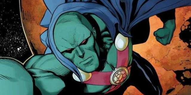 Martian Manhunter Best Justice League - Mars