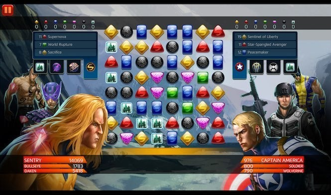 Marvel Puzzle Quest 2