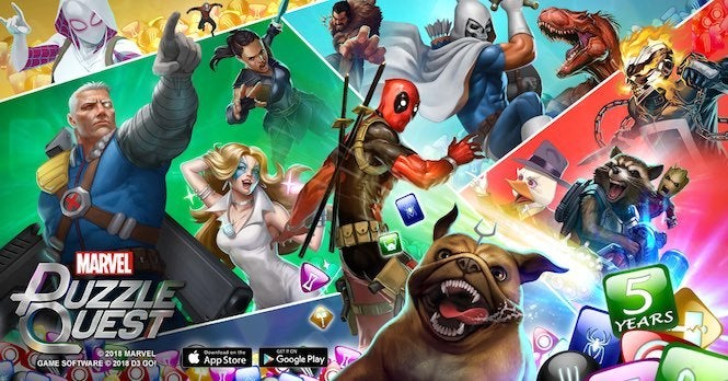 Marvel Puzzle Quest 4