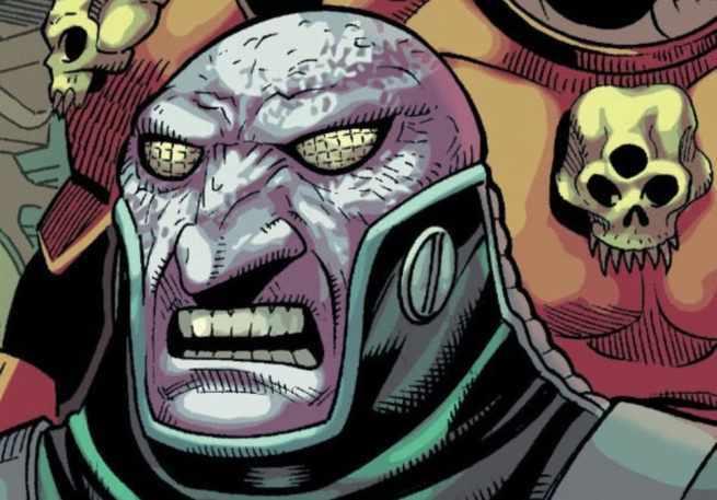 Morrison Green Lantern Villains - Kanjar Ro