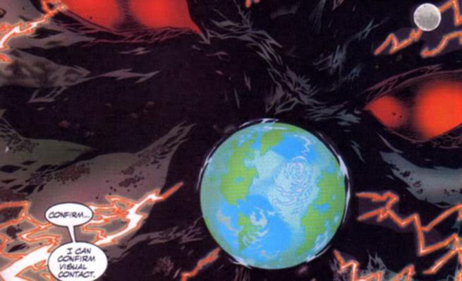 Morrison Green Lantern Villains - Mageddon