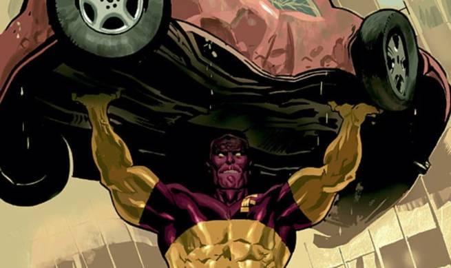 Morrison Green Lantern Villains - Major Force