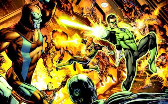 Morrison Green Lantern Villains - Manhunters