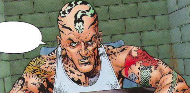 Morrison Green Lantern Villains - Tattooed Man