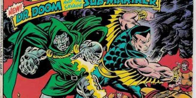 Namor Best Marvel Hero - Dr Doom