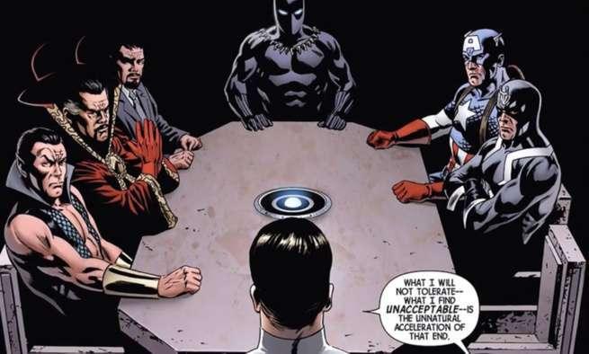 Namor Best Marvel Hero - Illuminati