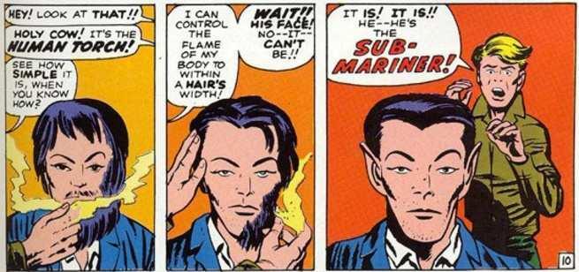 Namor Best Marvel Hero - Outsider