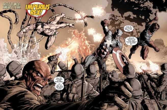 Namor Best Marvel Hero - World War II