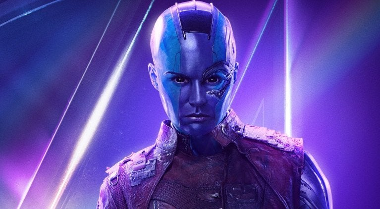 Nebula Avengers Infniity War Karen Gillan