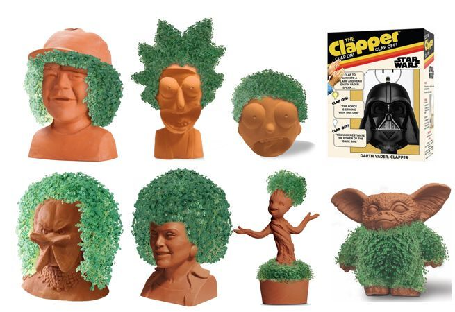 Fandom Chia Pets And Clappers Are Now Available To Pre Order