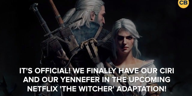 Netflix 'The Witcher' Cast Revealed screen capture