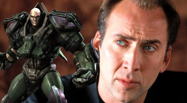 nic cage lex luthor