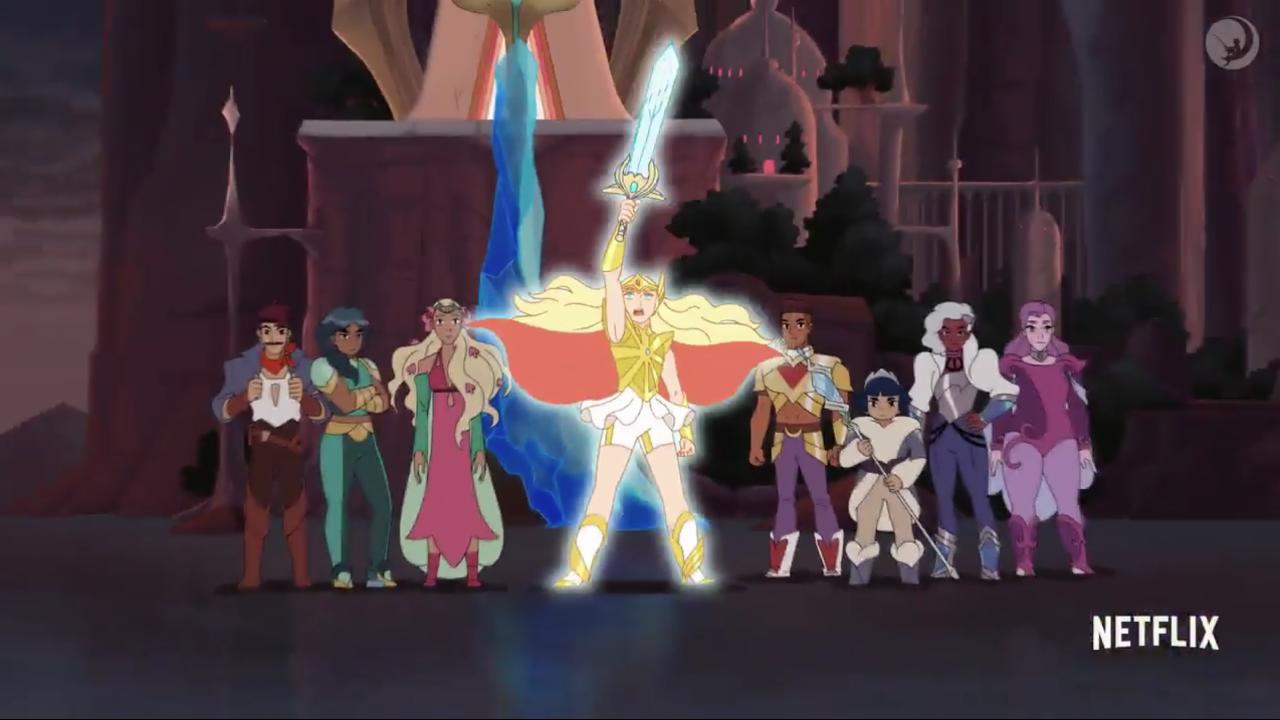 Official Netflix 'She-Ra' Trailer screen capture