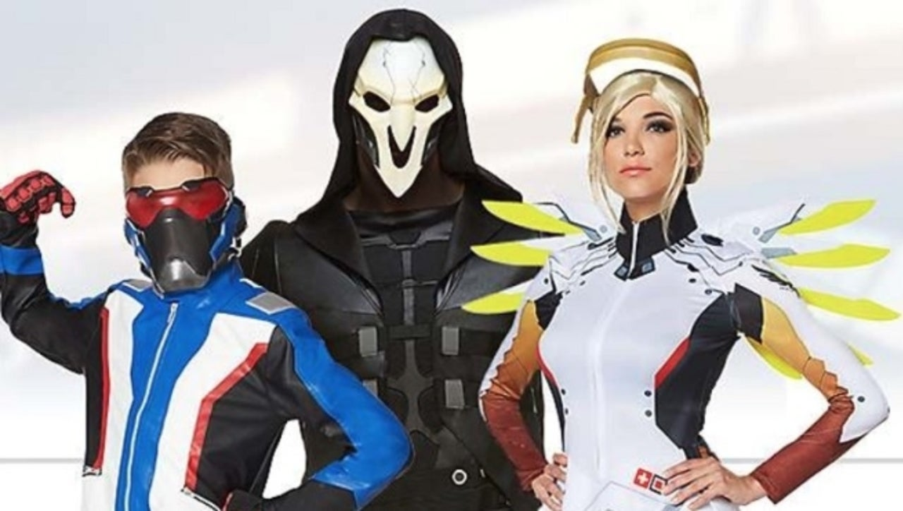 new overwatch halloween costumes revealed