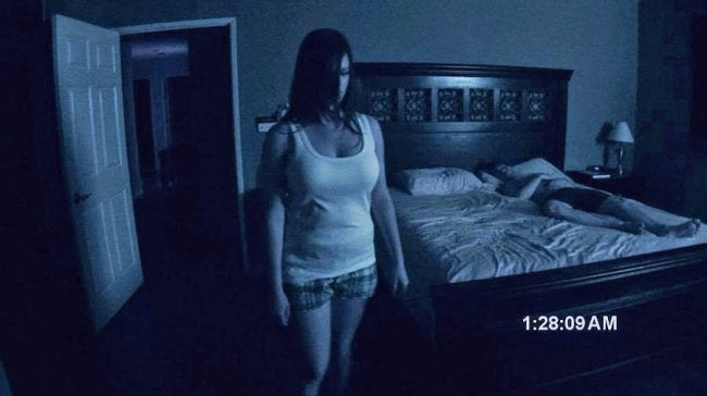 paranormal activity nightvision