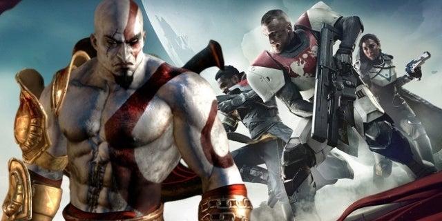 PlayStation Plus God of War 3 Destiny 2