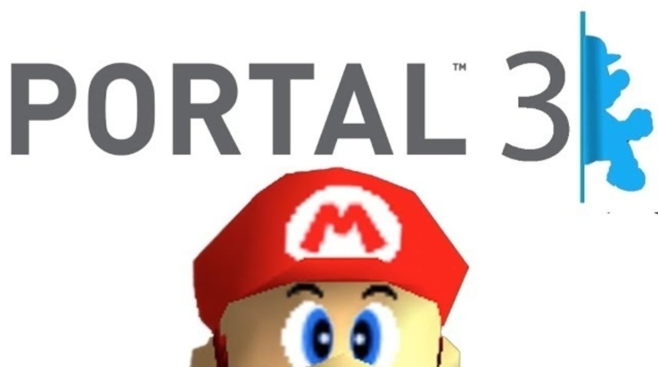 mario 64 gives us portal 3 with this mod