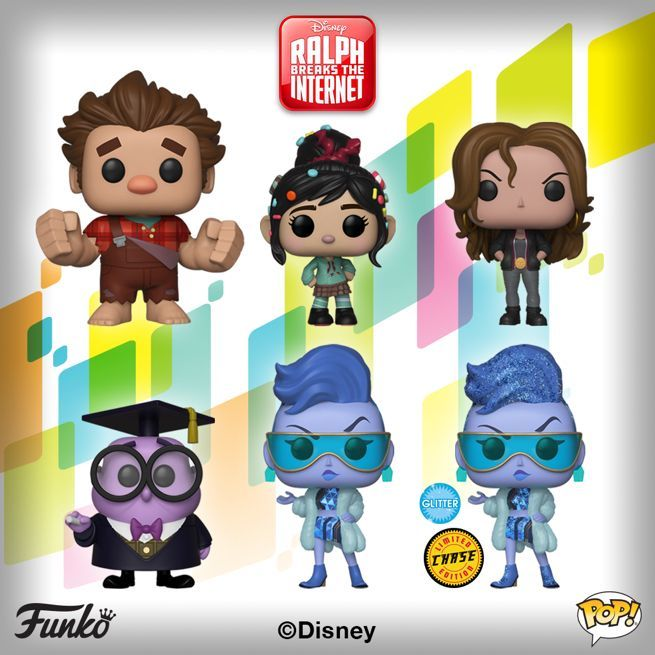 ralph-breaks-the-internet-funko-pops