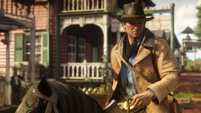 Red Dead Redemption 2 Players Can Fall Off The Map S Edge